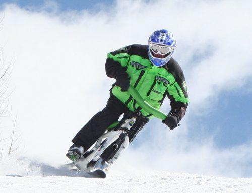 Fast ski bike