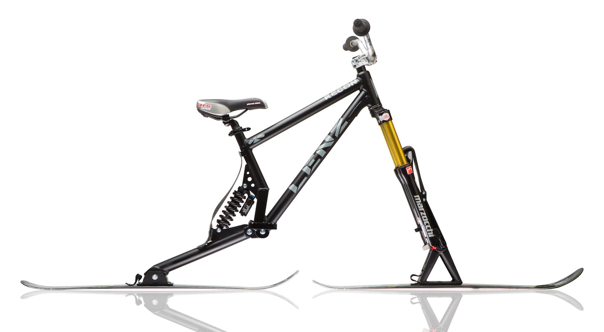 Lenz ski bike - Recon Full Suspension Ski Bike