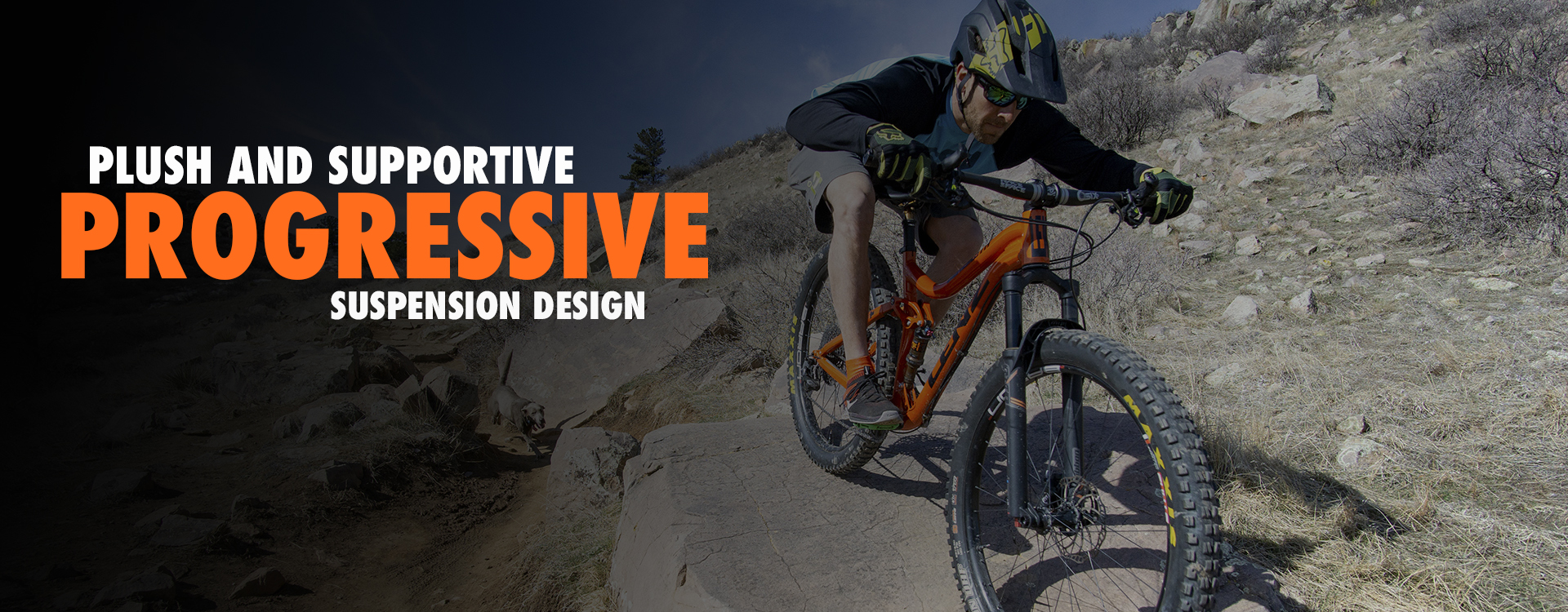 Behemoth slider progressive suspension