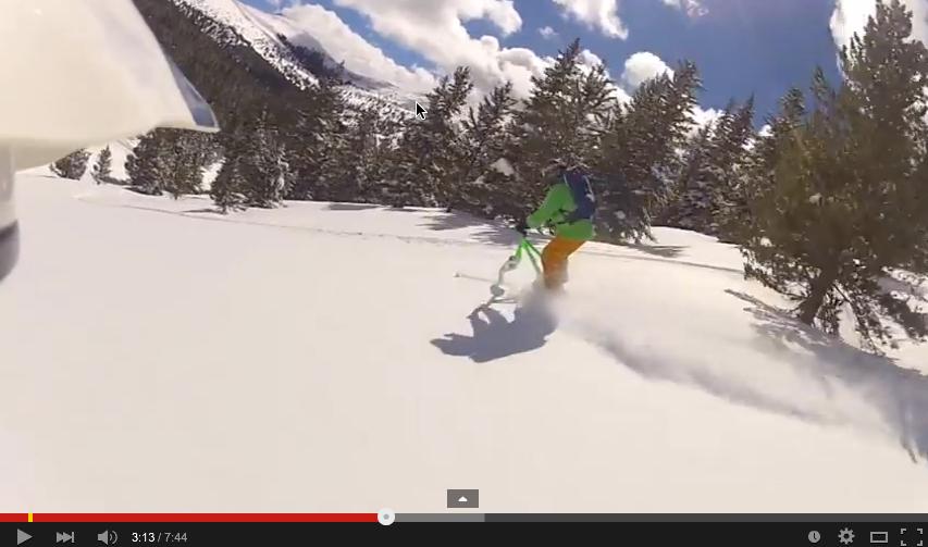 Ski Biking Powder