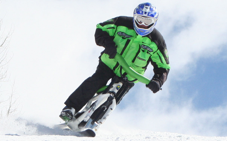 Ski Bike Lenz Sport Recon Free Ride Ski Bike