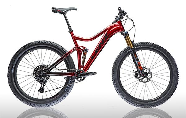 Full Suspension Plus bike