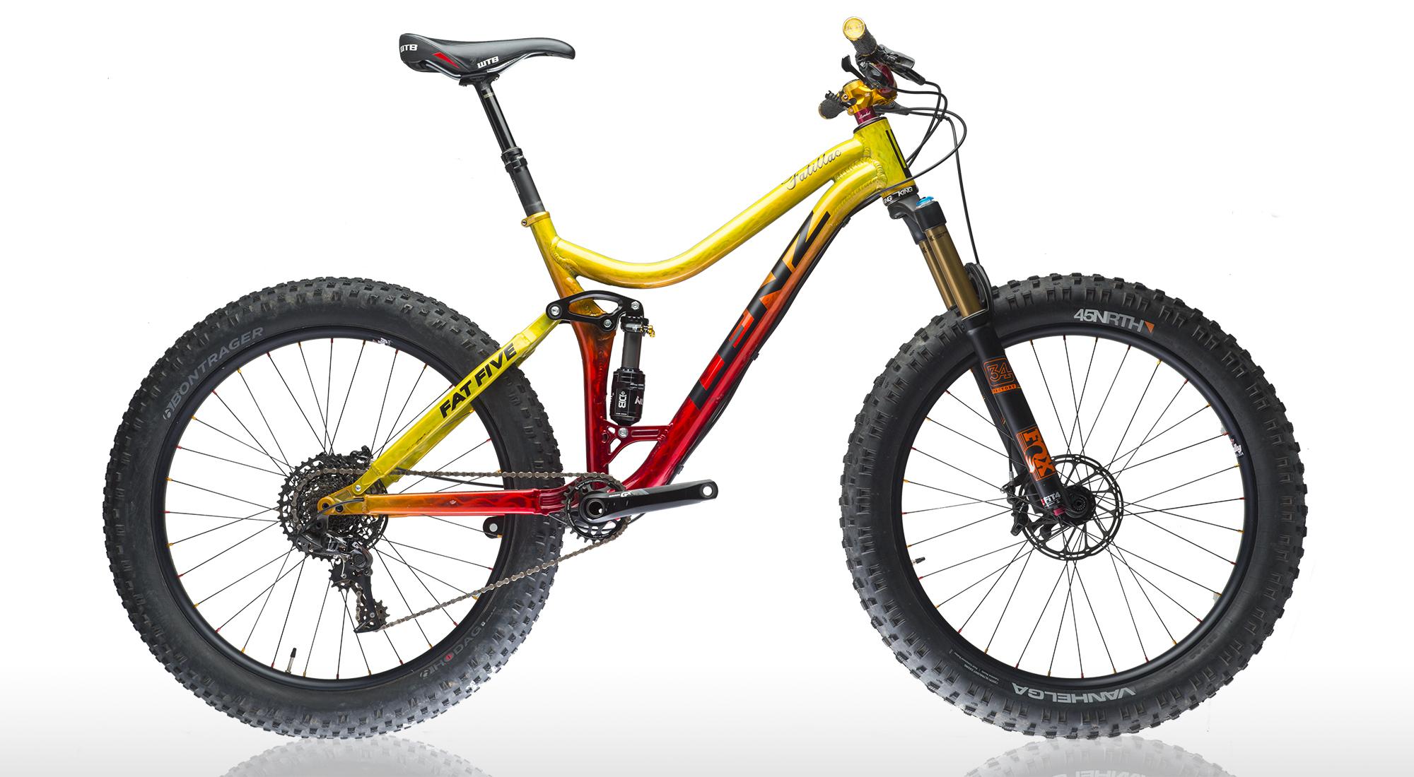 fatillac full suspension fat bike